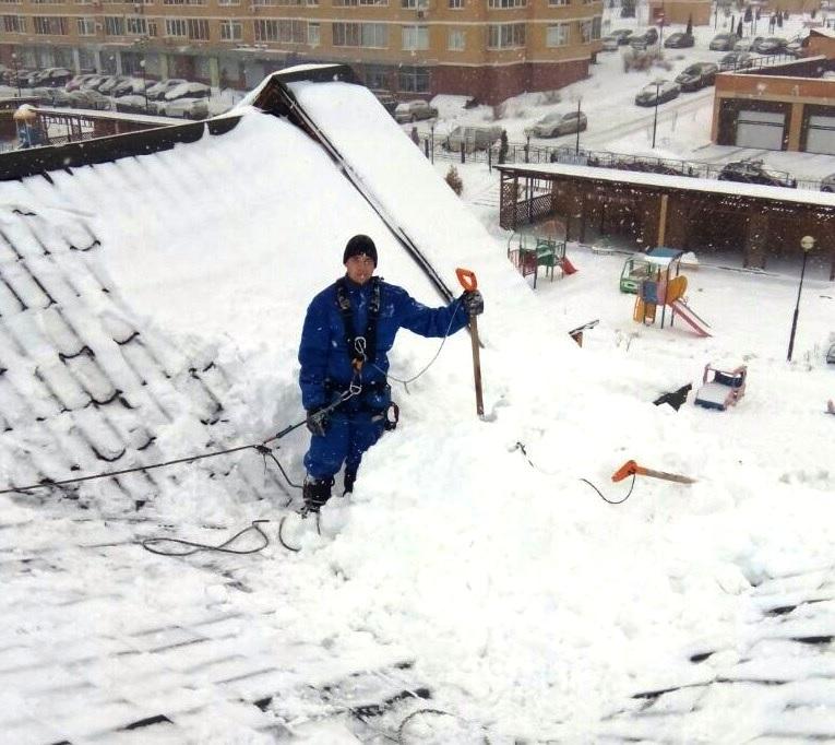 Уборка снега с кровли оквэд